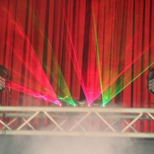 一中熱舞 健行國小成果發表會 舞台效果雷射燈出租