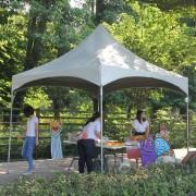 彩虹屋幼兒園暑期招生活動 桌椅帳棚搭設 (6)