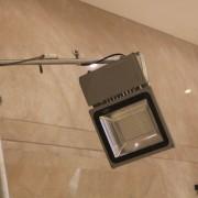 潮港城公司活動 背板補光設備搭設