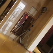 潮港城 公司春酒活動 Truss主題背板 LED打光燈組 出租搭設 (2)