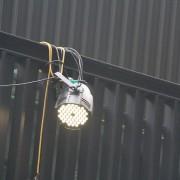 社區中秋烤肉 LED照明燈