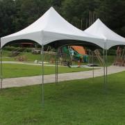 風尚旅行社 香格里拉樂園親子日活動 歐式帳篷搭設
