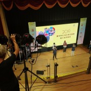 2019 台中市長照服務短片製作比賽 背板打光照明用燈光祖 出租搭設 (5)