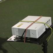 HitTrax Sports 擊創運動 台體大全壘打大賽 投影機搭設