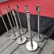 靈鷲山園遊會活動 紅龍伸縮圍欄柱出租運送 支援意林公關 (2)