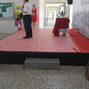 太陽能啟動典禮 標準舞台搭設
