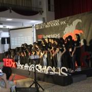 曉明女中 TEDxYouth@SMGHS 標準舞台搭設 (2)