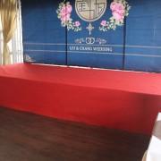 西湖渡假村 1.28婚禮午宴 標準舞台搭設 (2)