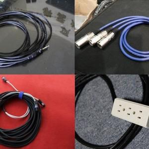 電源線 喇叭線 訊號線 吉他導線製作 電話&Line ID: 0923164665 台中頂尖燈光音響