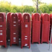 紅色塑膠椅出租 - 電話&Line: 0923164665 台中頂尖燈光音響