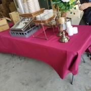 美陞企業行 員工聚餐Buffet聚餐 摺疊桌 出租運送