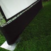 中山醫學院學生野餐 200吋投影布幕Truss組搭設 (5)