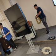中國醫藥大學 教學演講活動 55吋液晶電視 Truss組出租搭設 (1)