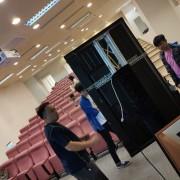 中國醫藥大學 教學演講活動 55吋液晶電視 Truss組出租搭設 (2)