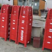 公老坪農場 紅色塑膠椅出租運送