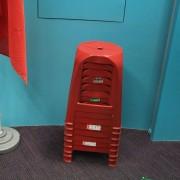 台灣茶協會 2018全民喝茶日 紅色塑膠椅出租運送 (2)