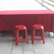 市政府花開未來 公共創意計畫活動 紅色塑膠椅出租