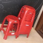 時美齋鐘錶 新款發表會 紅色塑膠椅出租運送