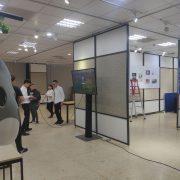 朝陽科技大學工業設計系 畢業成果展 液晶電視 Truss組 出租搭設 (6)