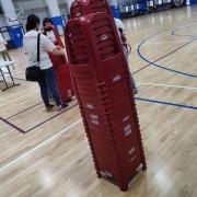 瑪麗亞社會福利基金會 南屯運動中心活動 紅色塑膠椅 出租運送 (2)
