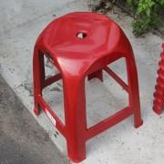 眷村文物館鄉里活動 紅色塑膠椅出租運送 (3)