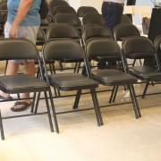 築境美學講座 黑色折疊椅出租運送 (4)