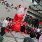西屯區公所 花卉博覽會 揭幕主題Truss搭設
