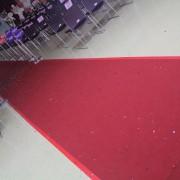 西屯區表揚大會 走道紅地毯