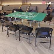 輕井澤撲克比賽 黑色折疊椅出租運送 (1)