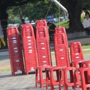 2018 葫蘆墩中秋音樂會 紅色塑膠椅出租
