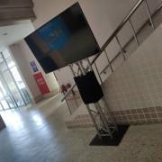 2018Tisca 國際烘豆邀請賽 Truss液晶電視搭設 支援意林公關
