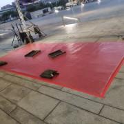 2020台灣燈會產業讚聲燈區 宣傳記者會活動 活動主題區 紅色地毯出租鋪設 (2)