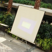 Thaï.J泰式庭園餐廳 投影設備測試 (4)