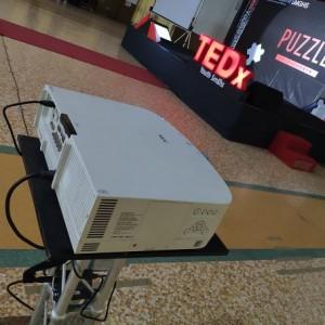 曉明女中 TED PUZZLE 演講活動 投影機出租搭設