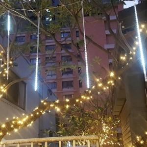 國碩電子遊戲場 聖誕節活動 樹裝飾流星燈 網燈 聖誕燈 出租施工搭設 (5)