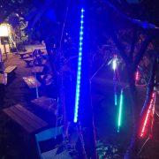 梨山水蜜桃節 營火晚會 樹裝飾用流星燈管(彩色款) 出租搭設