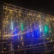 頂樓派對活動場地佈置 流星燈 出租運送 (2)