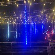 頂樓派對活動場地佈置 流星燈 出租運送 (3)