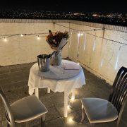頂樓 燭光晚餐求婚 流星燈、串燈 場地佈置 休閒圓桌 出租運送