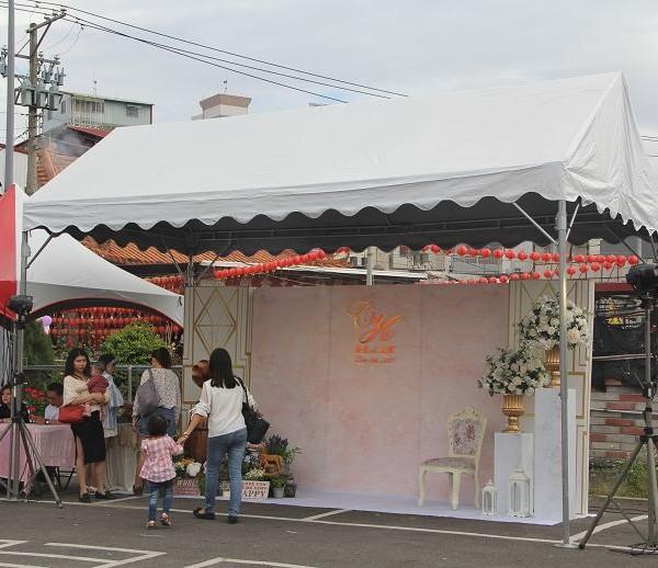 12月3日 埔里婚禮午宴 3m 6m歐式帳篷搭設