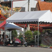 12月3日 婚禮午宴 3m 6m 歐式帳篷搭設