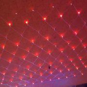 南都夜曲舞場 店面開幕 玫瑰紅裝飾網燈布置施工 (15)