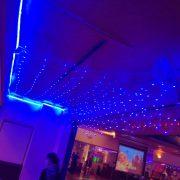 南都夜曲舞場 店面開幕 水藍色裝飾網燈 布置施工 (16)