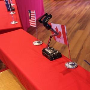 紐洛琳英語學院 英語表達能力大賽 桌上型麥克風架出租 (3)