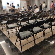 南屯精科家聚 好鄰茶會 折疊椅 塑膠椅 出租運送 (5)
