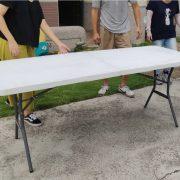 來來幼兒園 暑期夏令營戶外活動 摺疊桌 出租運送 (6)