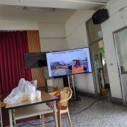 水患自主防災社區 區域聯防演練 80吋液晶電視 出租搭設 (13)