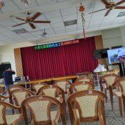 水患自主防災社區 區域聯防演練 觀眾座位區 80吋液晶電視 出租搭設 (6)