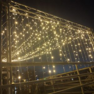頂樓派對活動 滿天星裝飾燈Truss架 出租搭設 (2)
