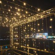 頂樓派對活動 滿天星裝飾燈Truss架 出租搭設 (5)